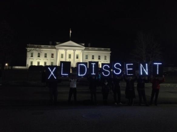 XL Dissent Light Show